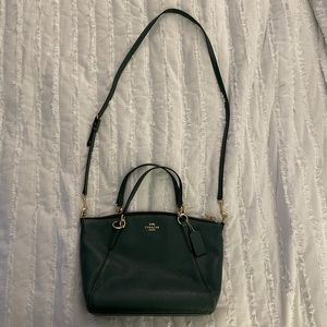 Coach Small Kelsey Satchel in Dark Turquoise